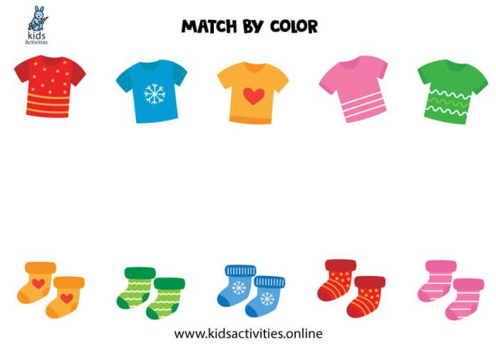 colors worksheets for preschools and printables