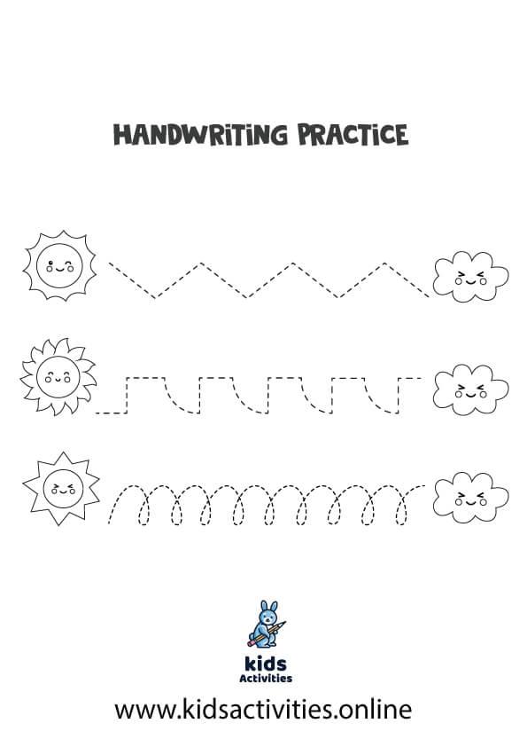 Free Tracing Worksheets Preschool .