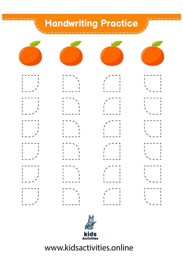 tracing worksheets kindergarten