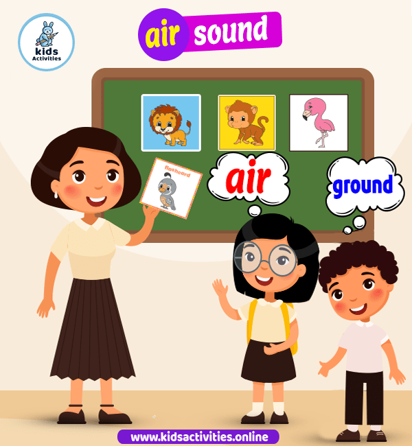 air sound jolly phonics