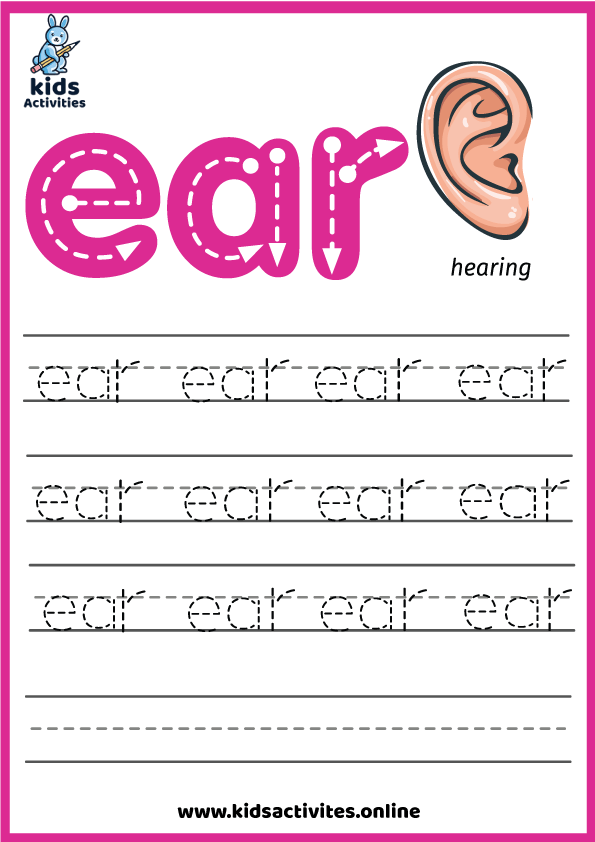 ear sound jolly phonics