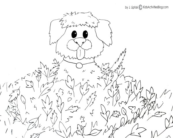 free fall coloring pages printable # 58