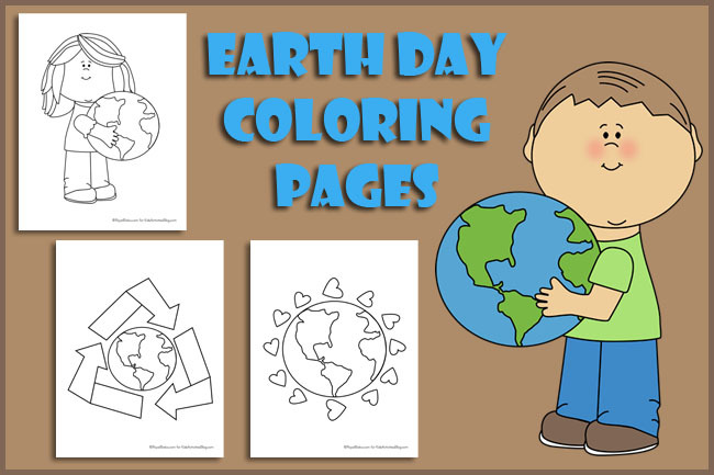 earth day for kids free printable