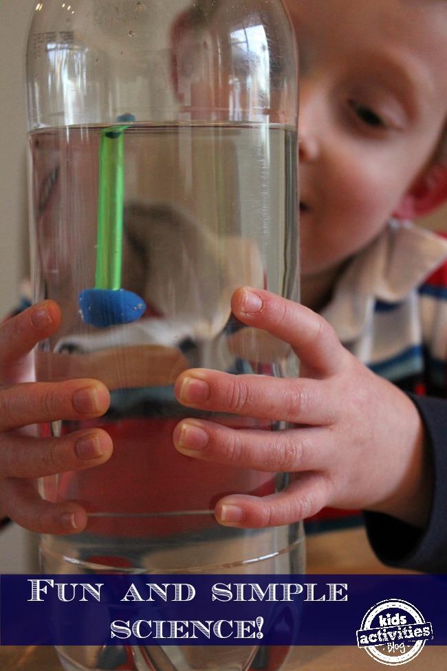 Fun science expirment for preschoolers
