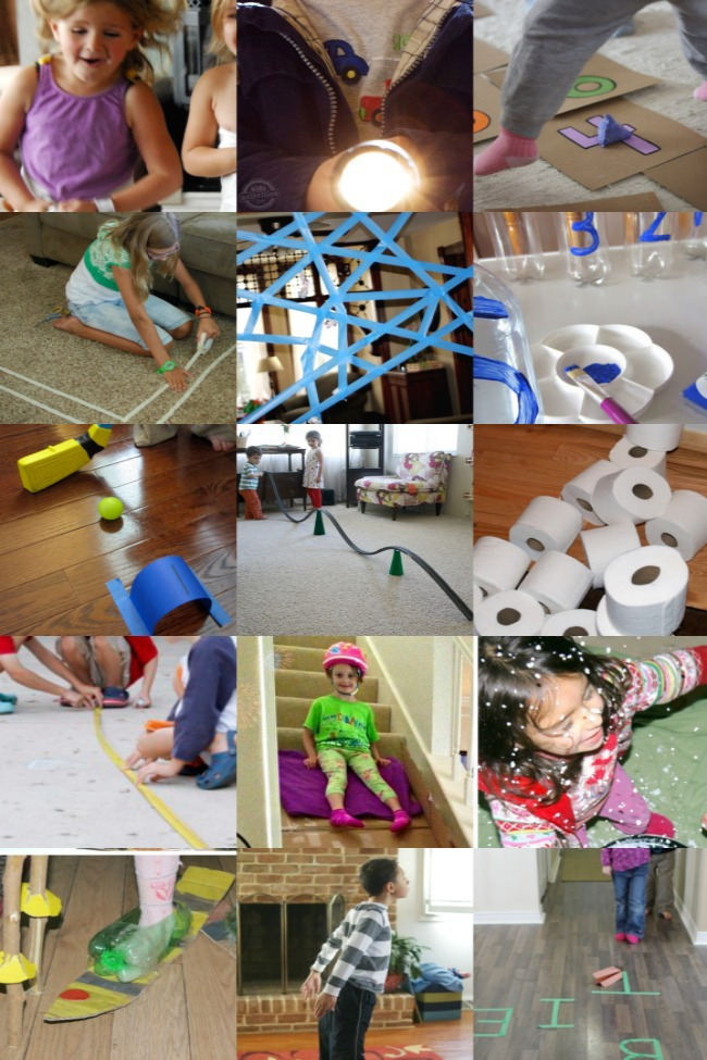 30 Stuck Inside Games for Kids - Kids Activities Blog