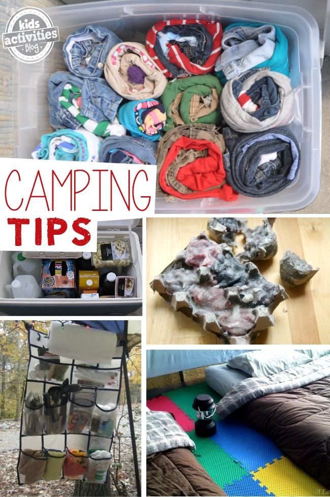 kids camping tips