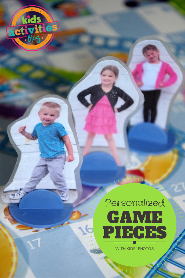 Personalized Game Pieces