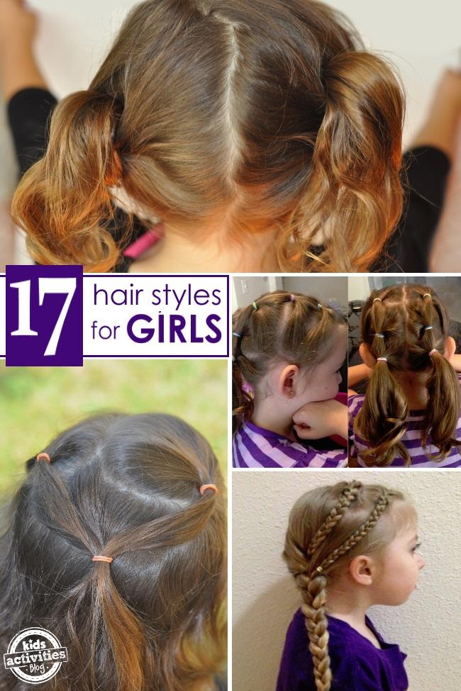 17 Terrific Hair Styles For Little Girls