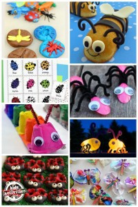 bug crafts activities snack food insect