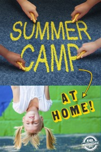 ideas for summer camp at home