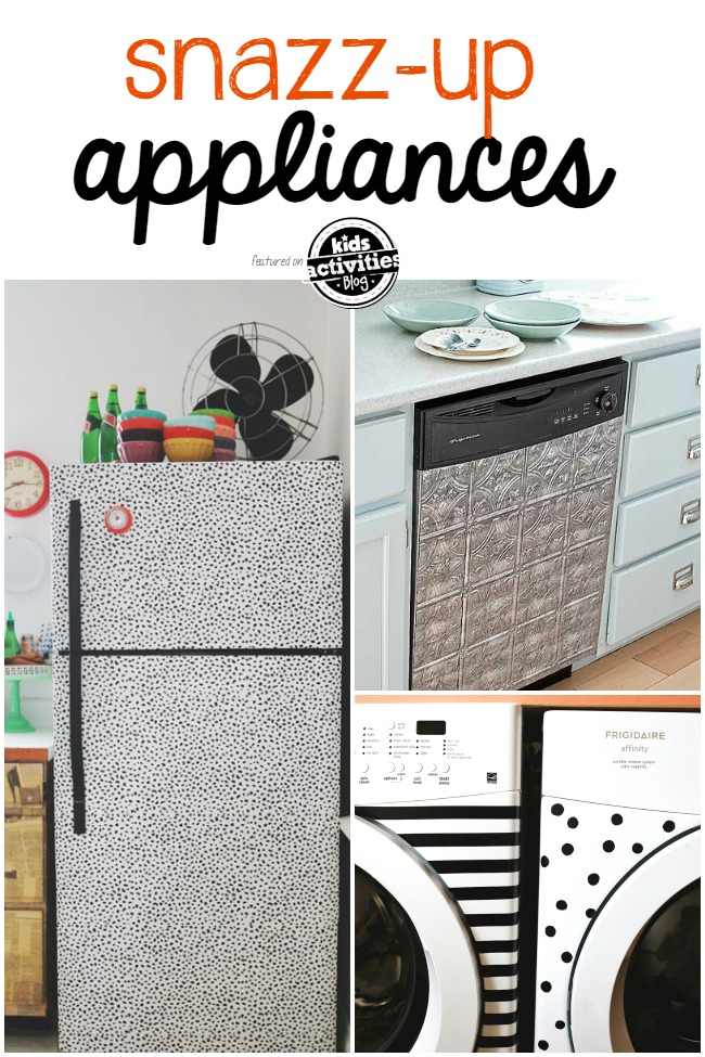 snazz up appliances
