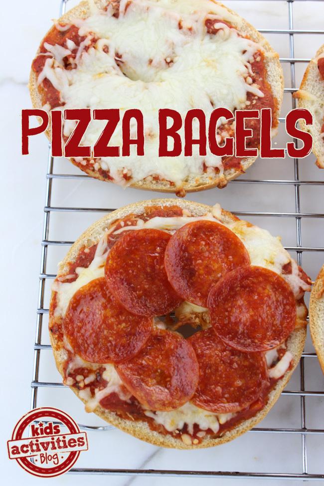 Pizza Bagels