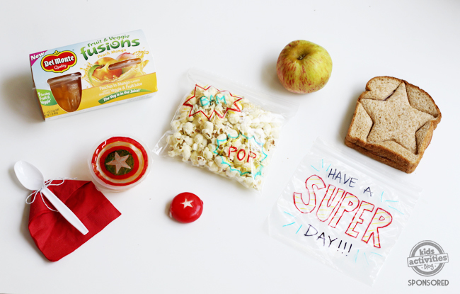 How to Pack a Super Hero Lunch to Celebrate Avengers: End Game!