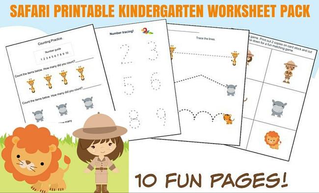 Printable Zoo Amp Safari Worksheet Fun For Kids