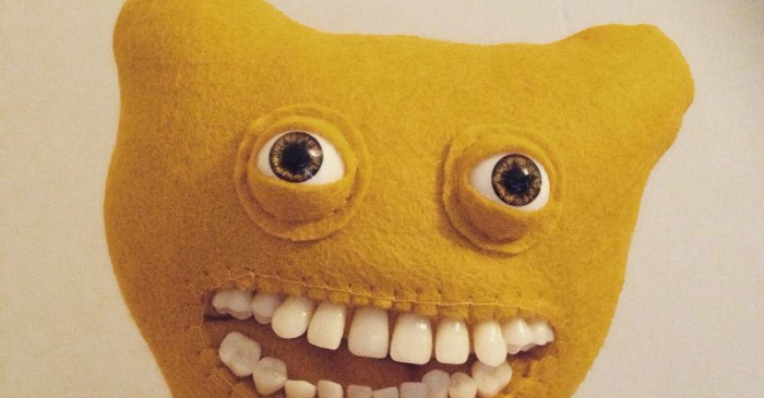 These Smiley Plush Dolls Are The Stuff Of Nightmares