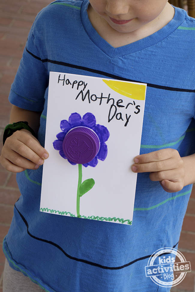 Easy Mothers Day Card Idea
