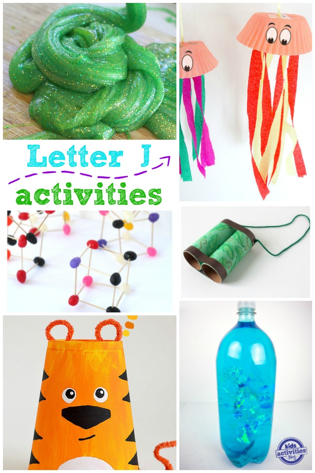 Letter J Crafts & Activities