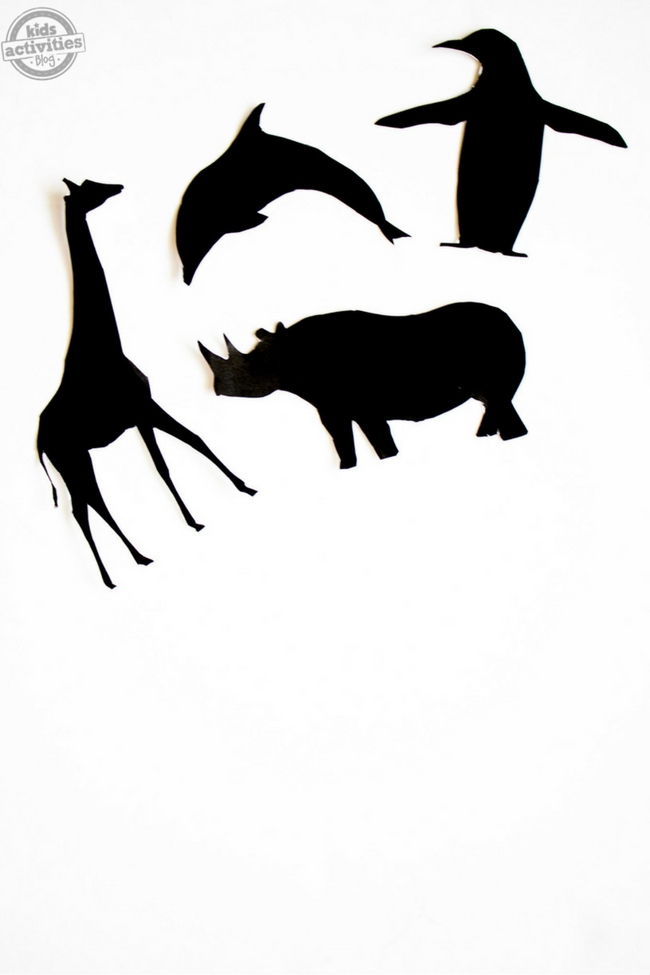 Shadow Puppets Printable Animal Shadow Puppets Activity