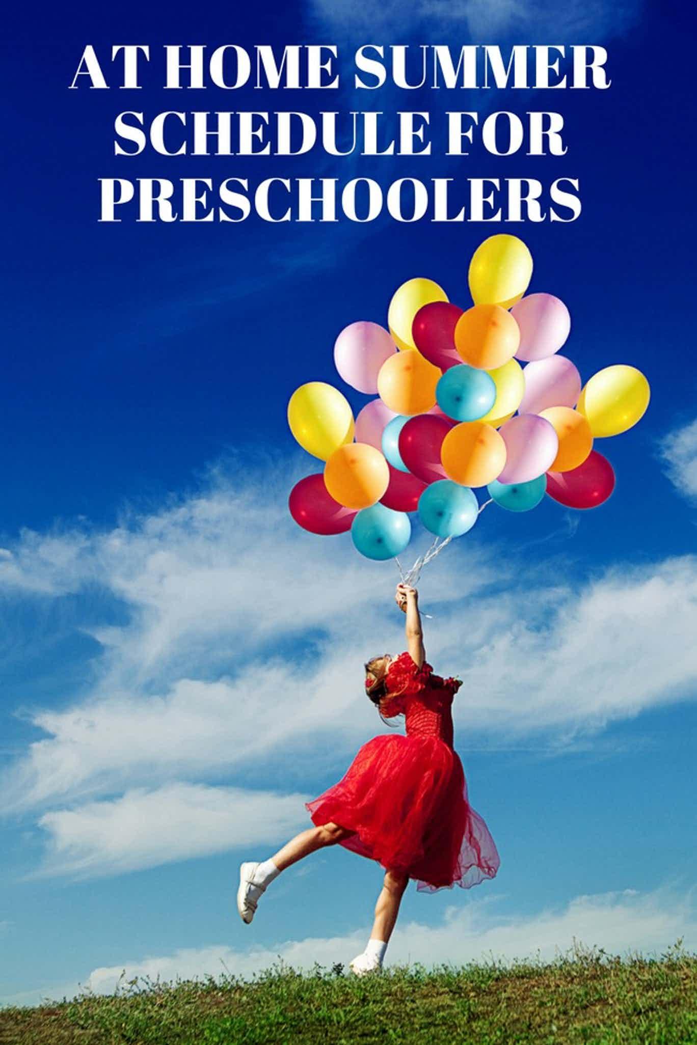 Preschool Summer Schedule