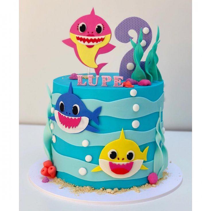 Contoh Soal Hots Sd Baby Shark Birthday Cake Design