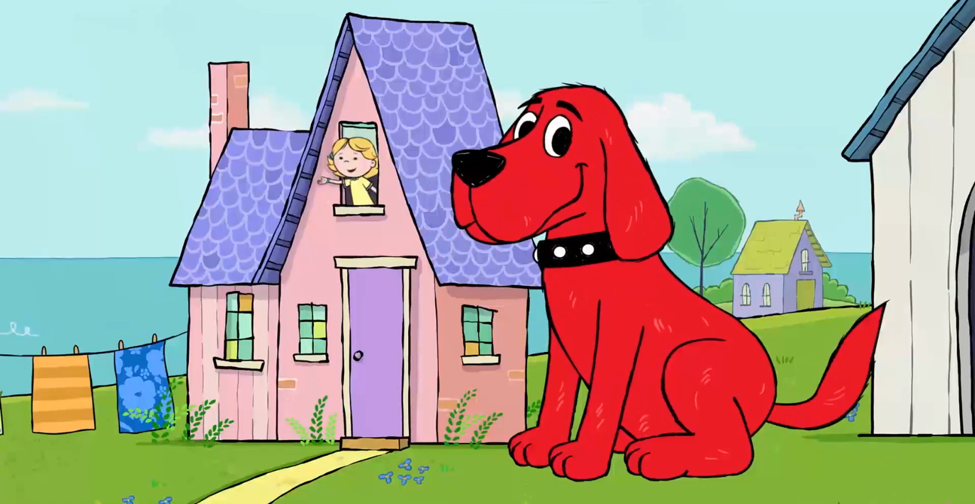 Here S Your First Look At The Clifford The Big Red Dog Movie