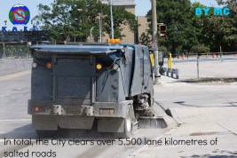 The city clears 5,500km of roads.