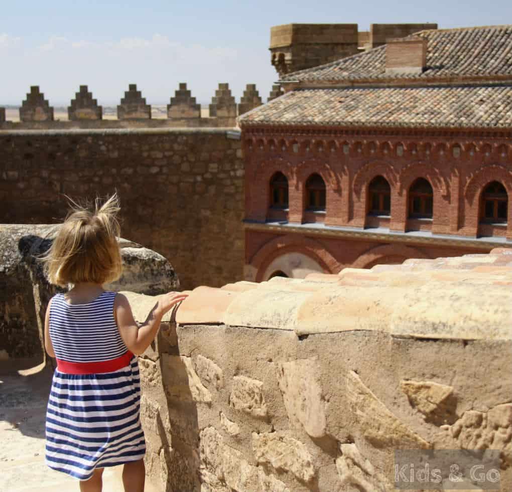 Kastylia La Mancha z dzieckiem