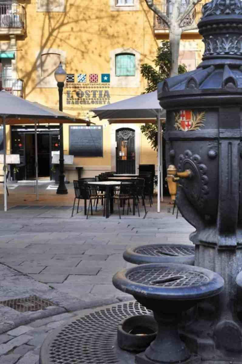 Restauracjew la Barceloneta