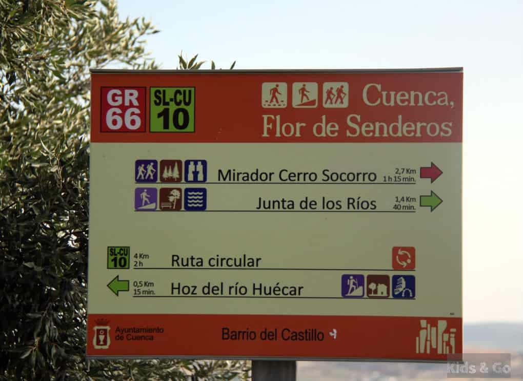 Cuenca z dziećmi - szlaki spacerowe