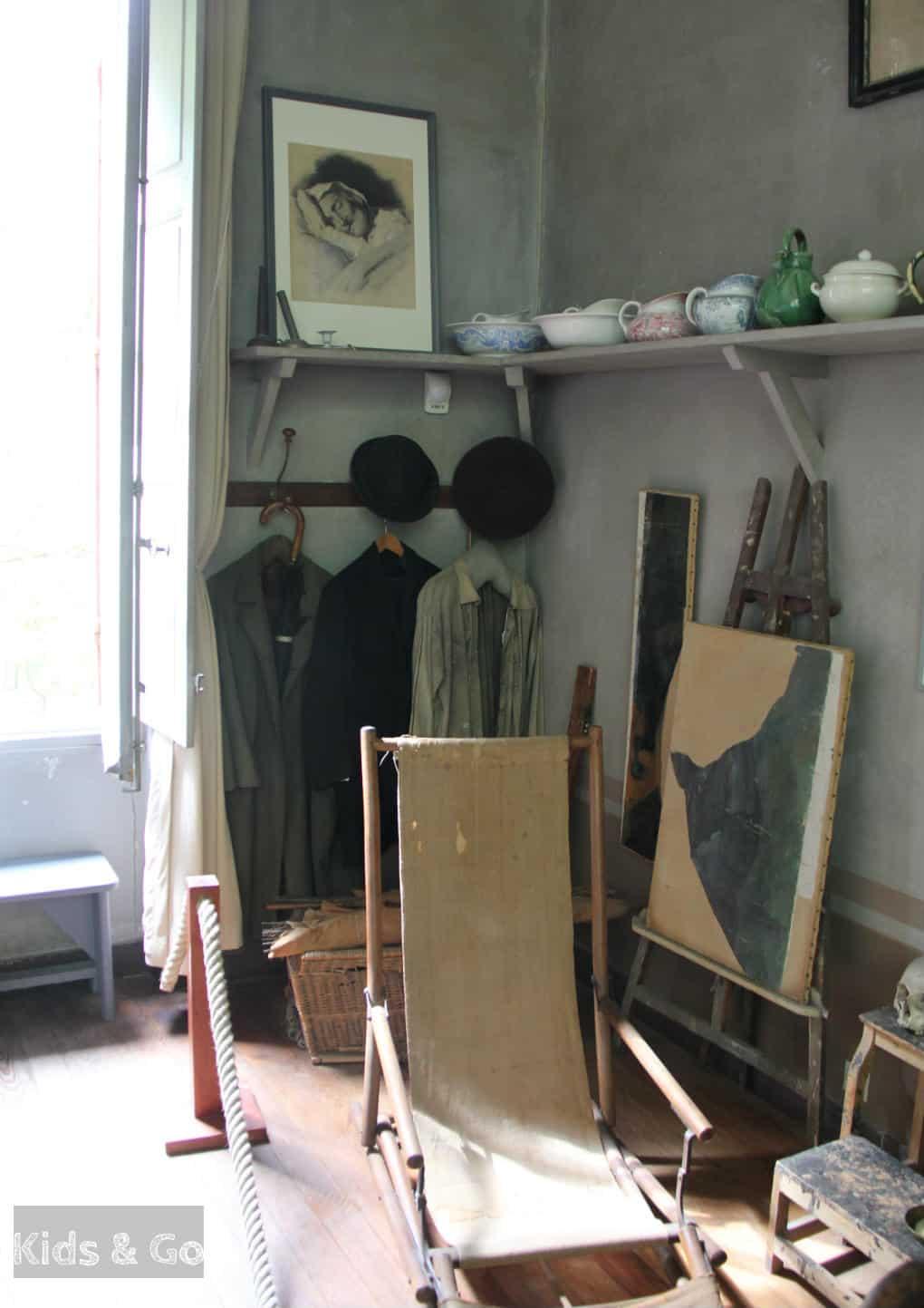 Aix-en-Provence z dzieckiem - pracownia Paula Cezanne