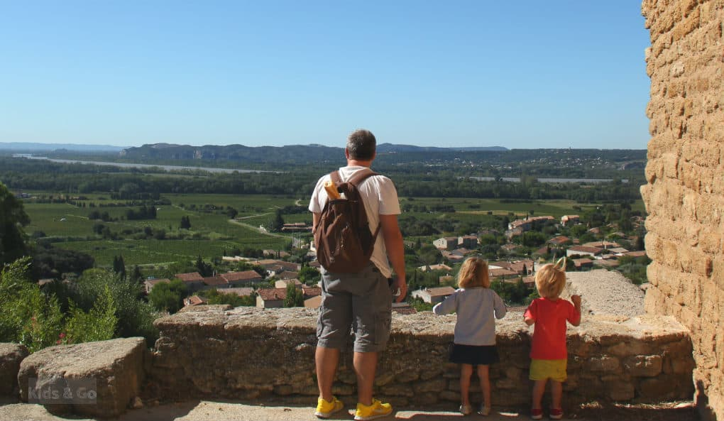 Dolina rodanu - prowansja z dzieckiem