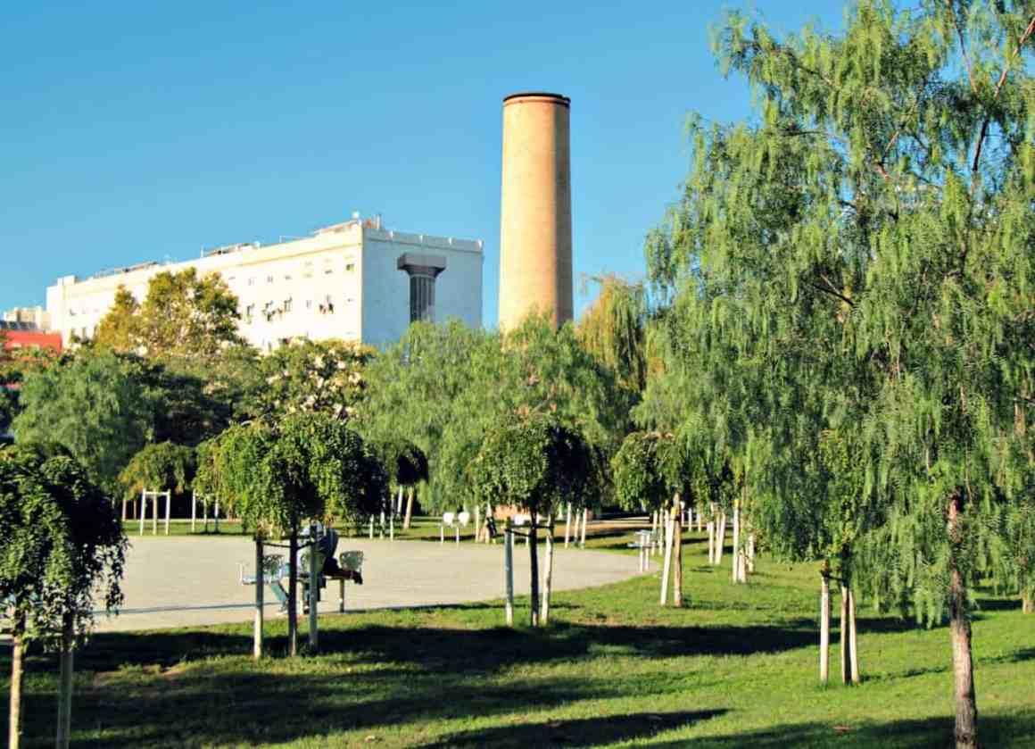 Parc del Centre Poblenou- Barcelona