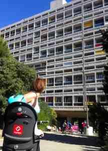 Zwiedzanie Marsylii - Le Corbusier - Cité Radieuse