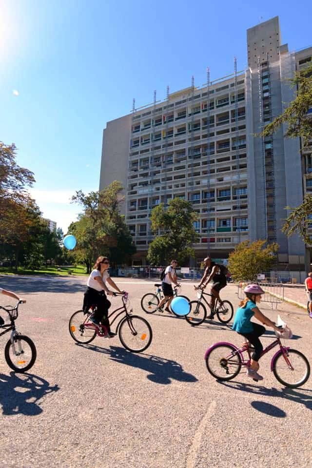 Marsylia na rowerze - Corbusier