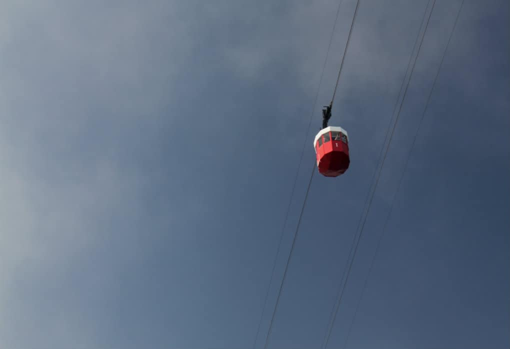 Kolejka linowa na Montjuic