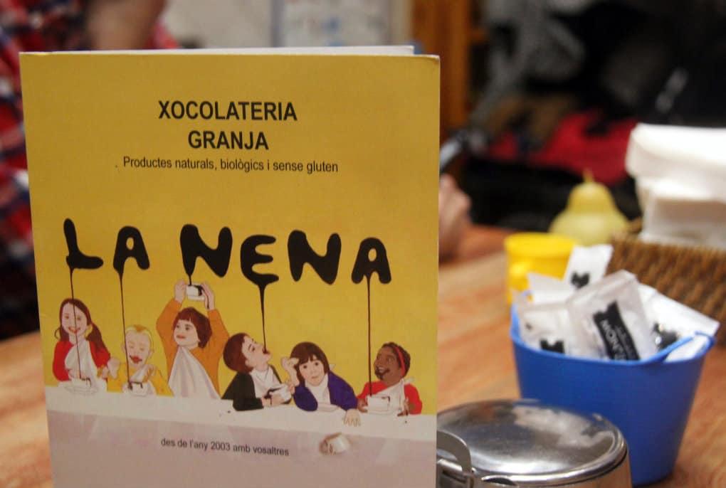 La Nena - czekolada w Gracii
