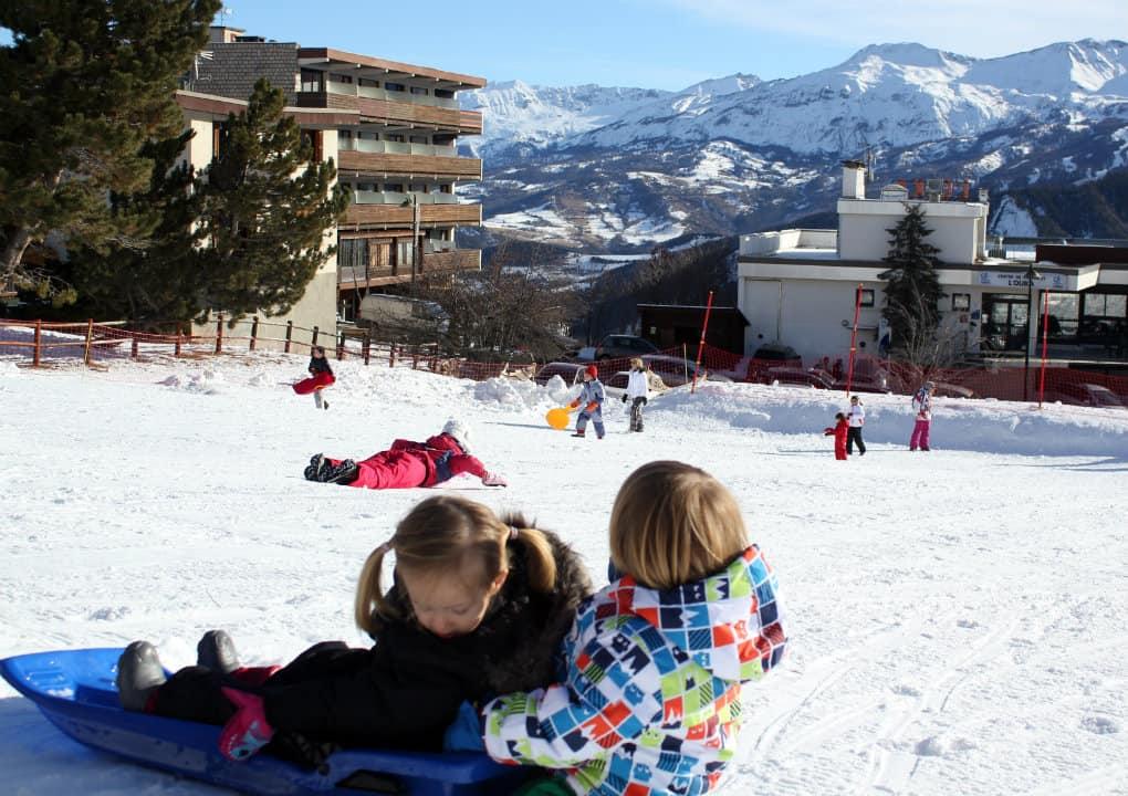 Alpy francuskie z dziećmi
