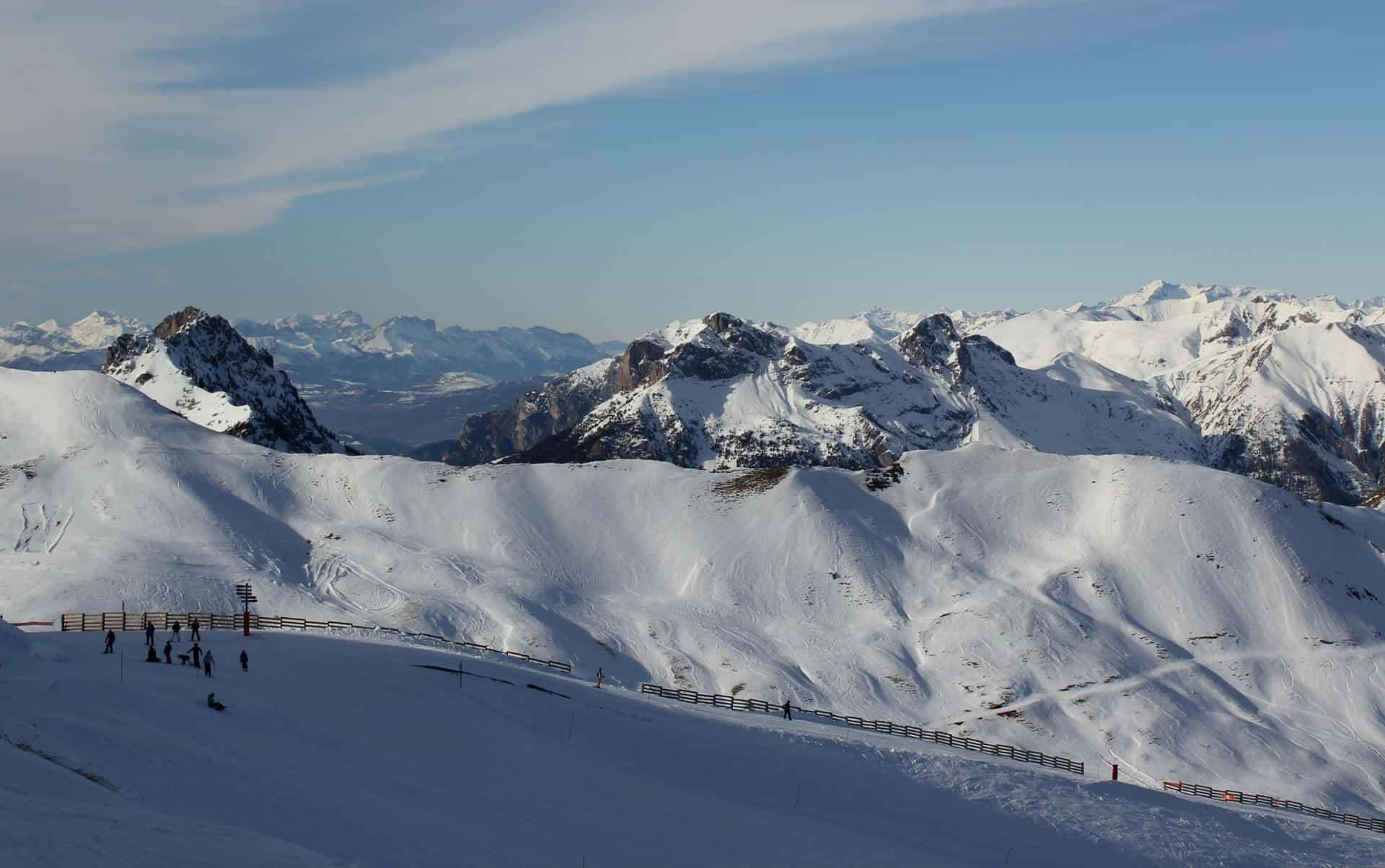 Narty we francuskich Alpach
