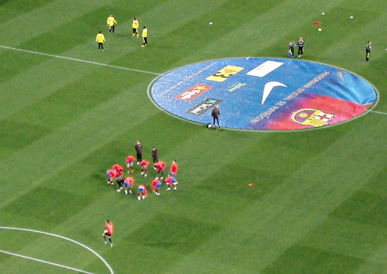 mecz fc Barcelona