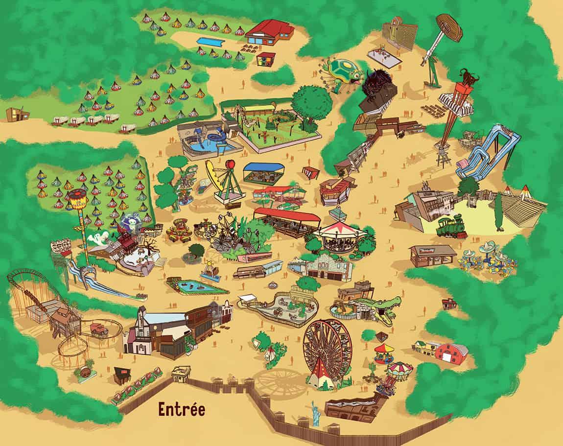 Parki tematyczne w Prowansji
