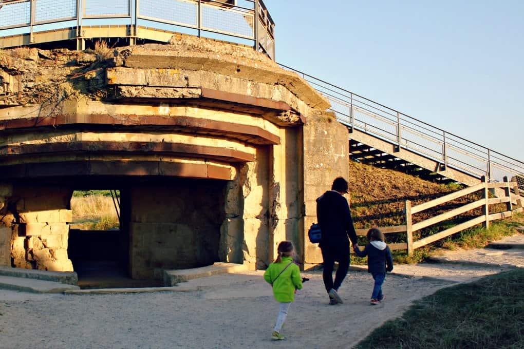 Normandia z dziećmi