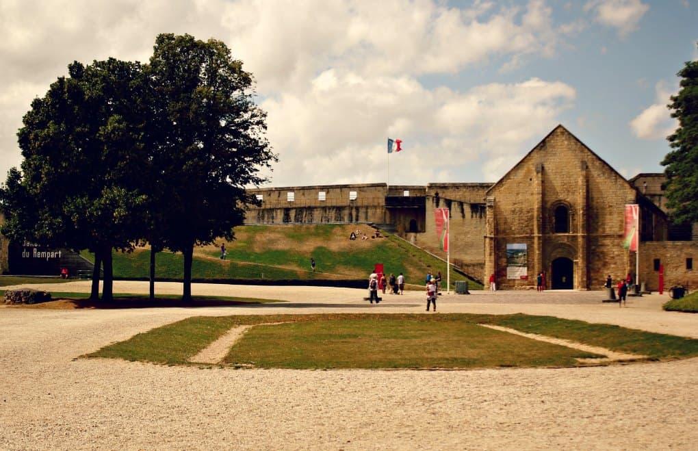 Normandia z dziećmi - Zamek w Caen