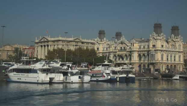 Barcelona z dziecmi - Wycieczka po porcie