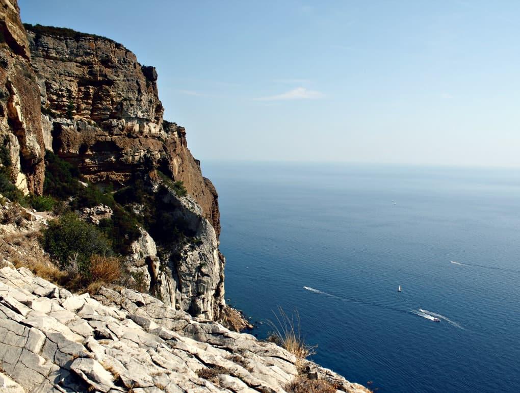 Klify Marsylii - Calanques