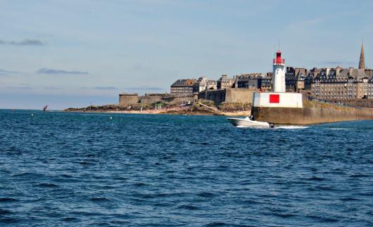 Saint Malo od strony Dinard