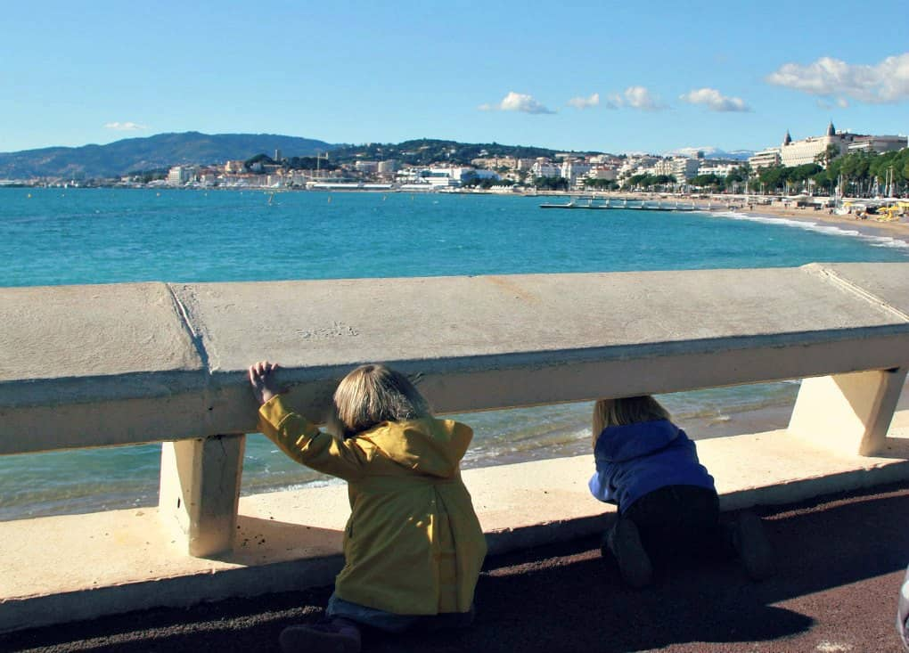 Cannes z dziećmi