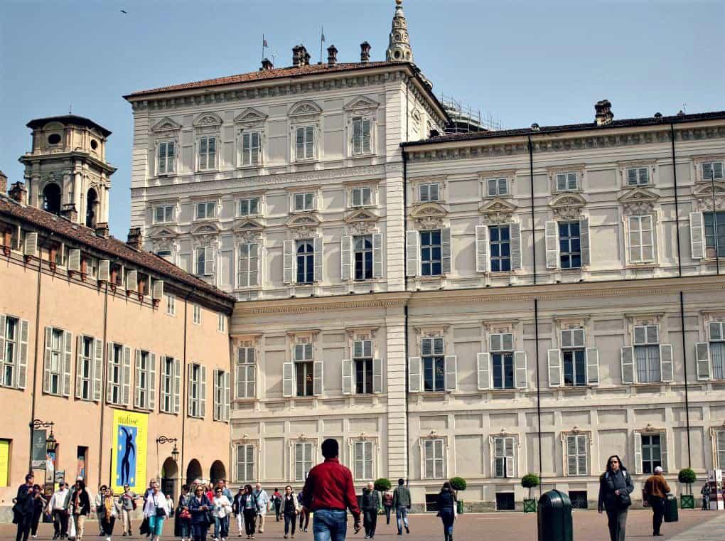 Turyn zwiedzanie - Palazzo Reale