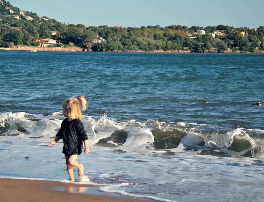 Lazurowe Wybrzeże z dzieckiem