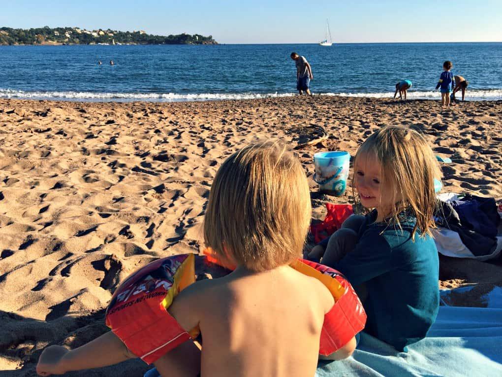 Lazurowe Wybrzeże gdzie z dziećmi