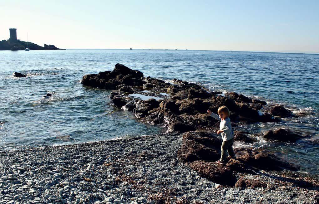 Kemping na morzem w Agay